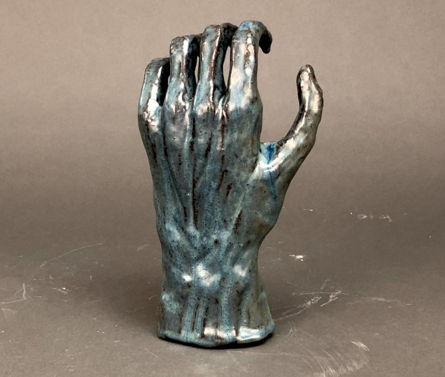 Figural+Hand+Sculpture+by+Meagan+Steck+%2719