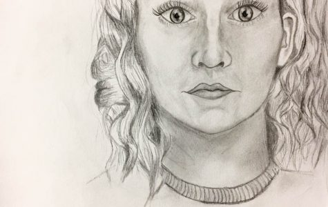 Self Portrait by Abigail Gage '18