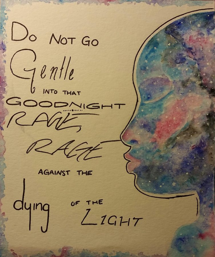 Do Not Go Gentle by Amelia Backes '19