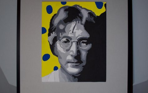 John Lennon by Elke Thielen '18