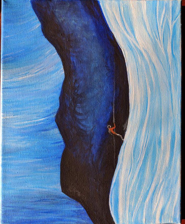 Descending by Amelia Backes '19