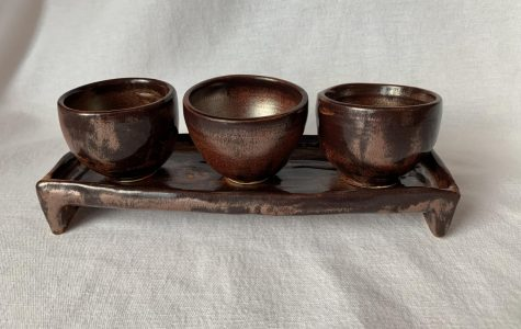 Japanese Tea Tray and Cups by Meagan Steck '19