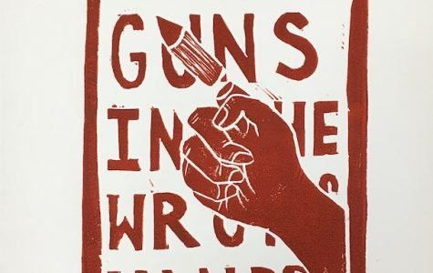 No More Guns in the Wrong Hands by Annabella Bolin 21'