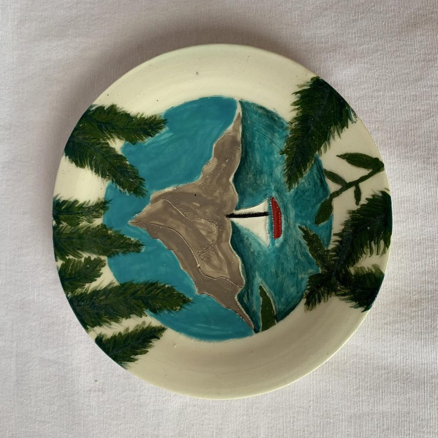 Destination plate by Meagan Steck '19
